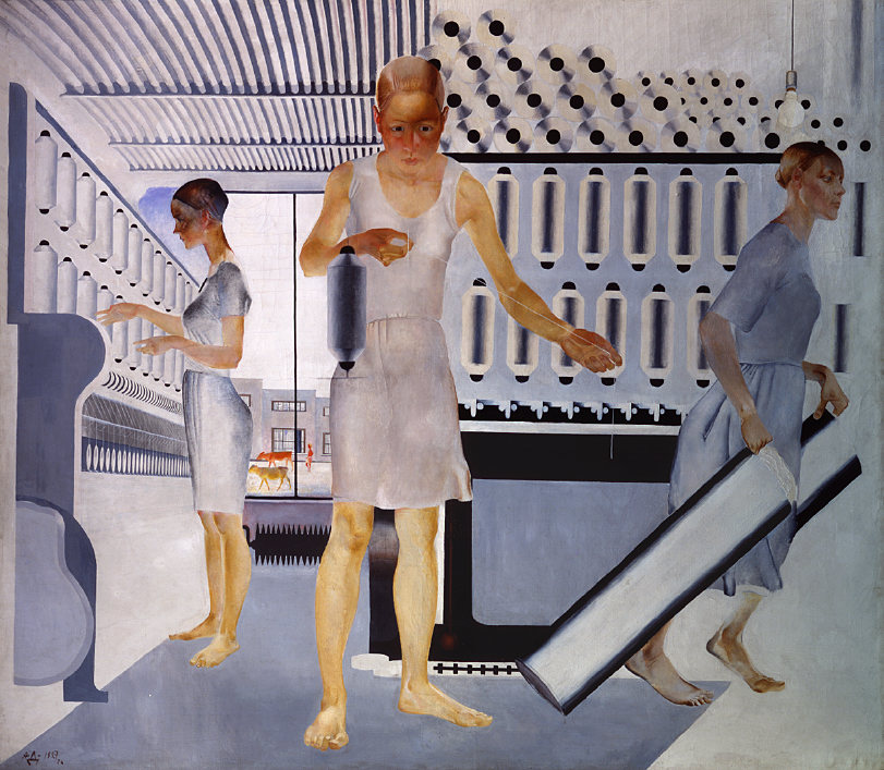 Textile Worker 1927