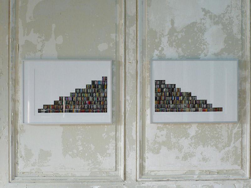 Birgit Schlieps 1/3 Archiv Volk und Wissen Installation view