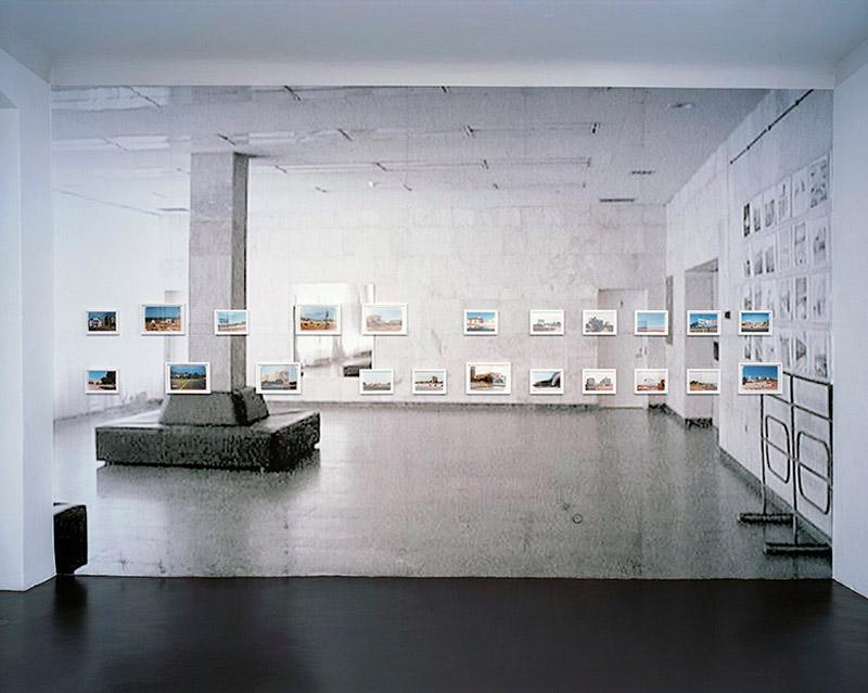 Birgit Schlieps Trancemoderne Tapestry – Installation view