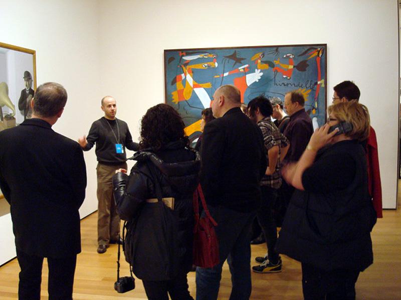 Communist Tour of MOMA by Jevgeniy Fiks