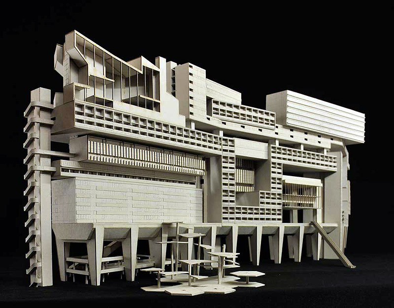 Monument for the Modernism (Model)