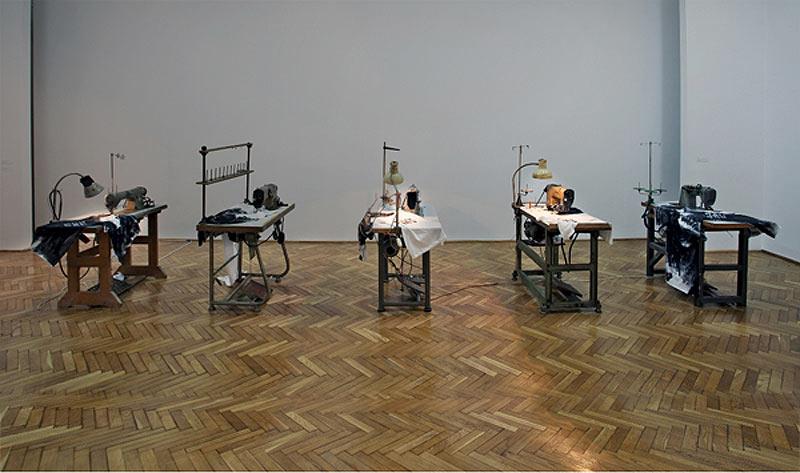 Nada Prla Black Communism installation view