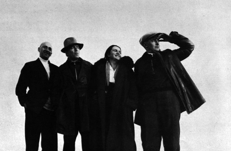 Lissitzky Küppers and Vertov in Chodnja 1932