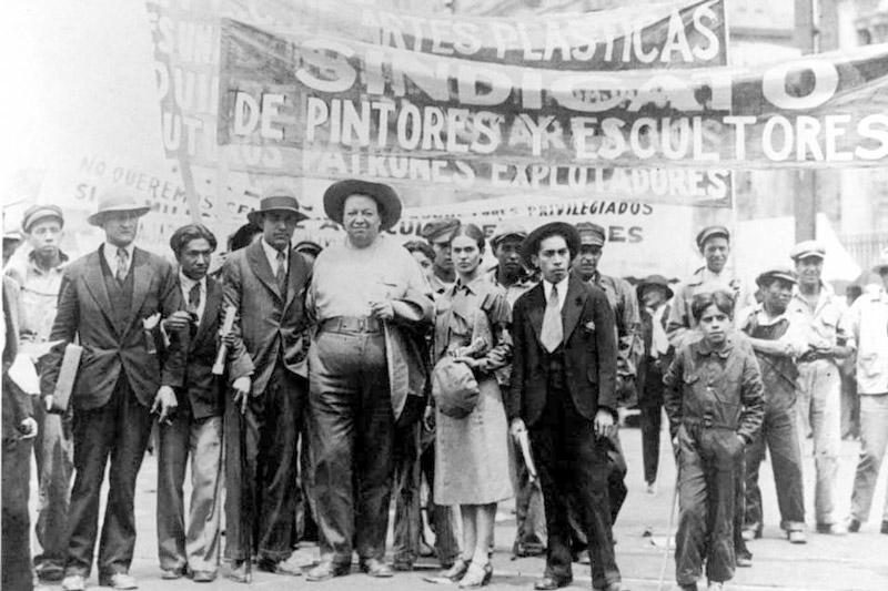 Tina Modotti, Diego Rivera, Frida Kahlo