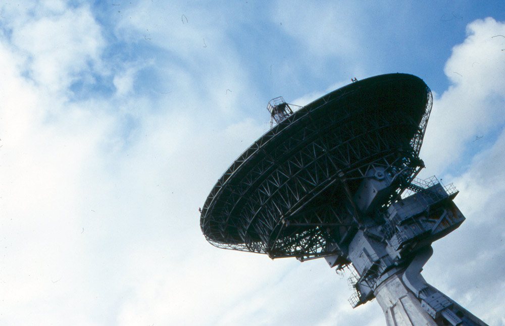 RT32 Dish in Irbene – Acoustic Space Lab