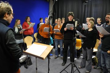 Recording the Choir of Dead space Travellers
