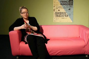 Video: Inke Arns talking about Francis Hunger & Suzanne Treister
